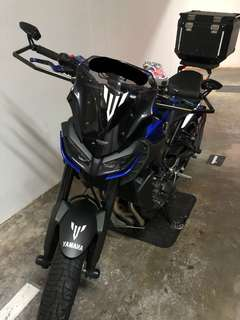 MT09 2017 *facelift*