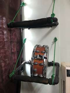 Modular PVC Snare Drum Rack System
