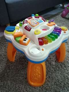 Babies R Us Music and Play Activity Table