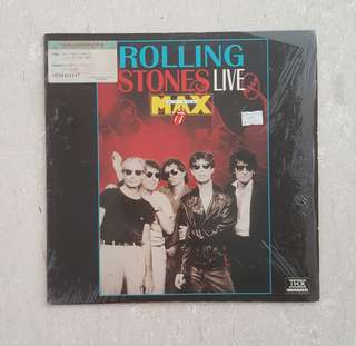 Rolling stones live at the max laser disc record