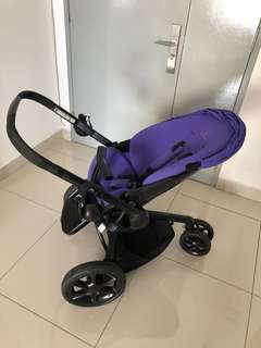 Quinny Moodd Stroller - Black/Purple (Limited Edition)