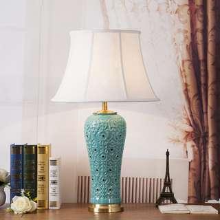 Ceramic craft TableLamp