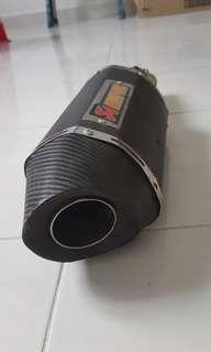 Ekzos akrapovic ninja 250 for sale