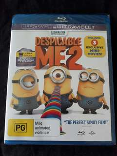 Orginal Bluray / Despicable me / The Fast and the Furious / The Patriot / first come first serve