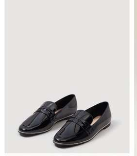 MNG Patent Loafers