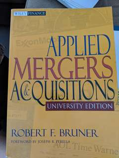 Applied Mergers Acquisitions