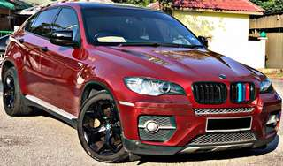 BMW X6 3.0 DIESEL TWIN TURBO (A)