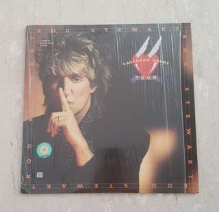 Rod Stewart vegabond heart tour laser disc record