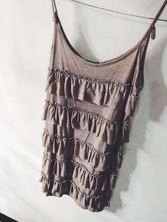 loose nude dress