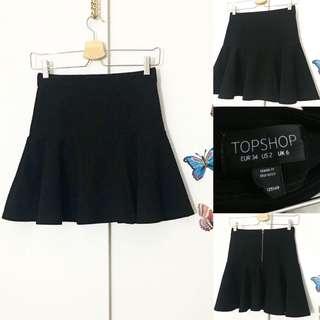 Flare skirt (S) TOPSHOP