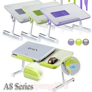 🚚 Xgear A8 Foldable Portable Multi-Angle Ergonomic Laptop Table Desk