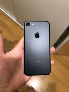 ( Iphone7 ) 128GB black