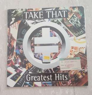 Take that greatest hits laser disc record