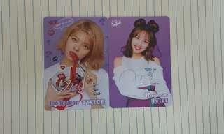 Yes Card! Twice簽名卡