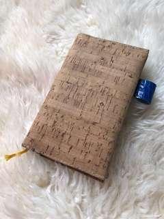 MD Midori B6 Slim Cork cover handmade