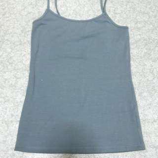 Grey blue singlet