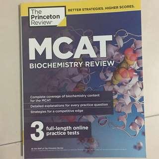 MCAT Princeton Review Biochemistry