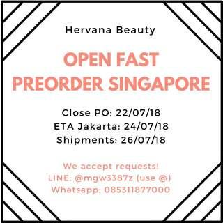 OPEN PO JASTIP SINGAPORE SINGAPURA - LUSH, SEPHORA, SASA, BRANDY MELVILLE