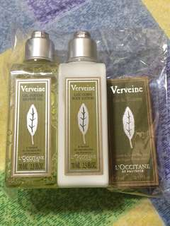 L'occitane Shower Gel, Body Lotion & EDT