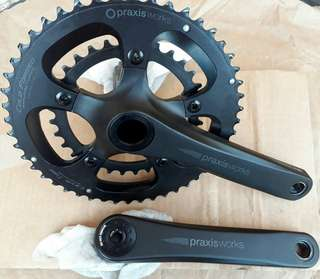 Praxis Works Alba Crankset with BB and tool
