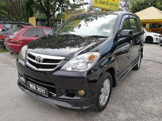 Toyota Avanza 1.5(a) 2009 b/list boleh loan h/p 0162191010