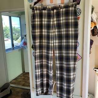 Vintage tartan pants
