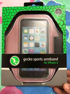 GECKO SPORTS ARMBAND FOR IPHONE 6