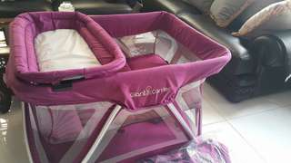 [slightly negotiable] Baby Crib and Playpen 2in1