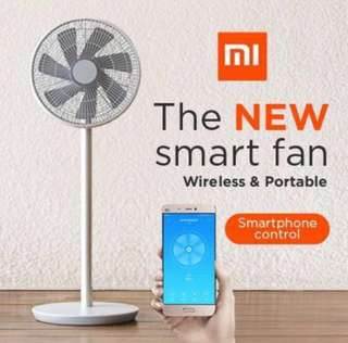 Xiaomi Smart Inverter Fan/Wireless & Portable/smartphone control/built in battery/with remote/latest version/ready stock/free SG adaptor