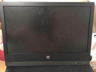 HP USB portable monitor