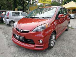 Perodua Alza 1.5(a) ez b/list boleh loan h/p 0162191010