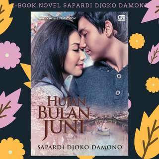 EBOOK PDF NOVEL HUJAN BULAN JUNI