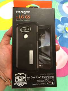 ORIGINAL SPIGEN TOUGH ARMOR WITH KICKSTAND FOR LG G5