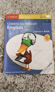 Year6 cambridge learners book