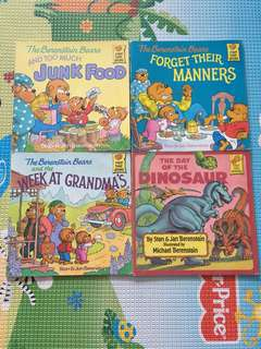 Berenstain Bears (4 book)