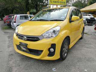 Perodua Myvi 1.5(a) SE B/list boleh LOAN H/p 0162191010