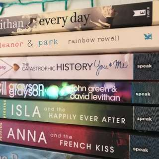 Assorted Novels (6books for 1300)