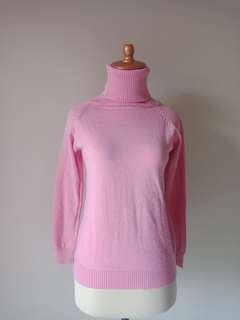 SWEATER TURTLE NECK PINK