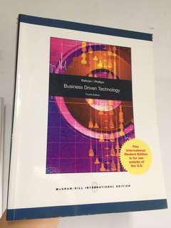 Business Driven Technology McGraw Hill