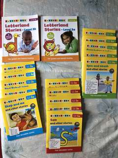 Letterland Phonics Readers (Level 1, 2 & 3)