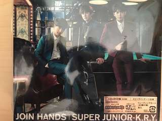 Super Junior- K.R.Y Join Hands CD + DVD [初回盤]