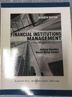 Financial institutions management Mcgraw