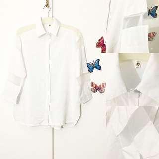 Kemeja putih size XL