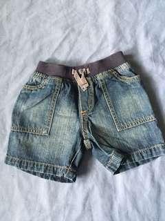 Baby Boy's Denim Shorts