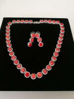 Chili Red Necklace