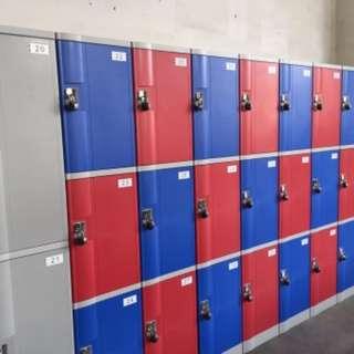 Storage Space in Lockers
