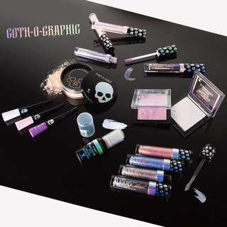 Wet N Wild goth-o-graphic spring 2018 collection