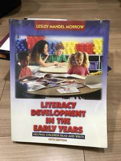 Literacy development in the early years