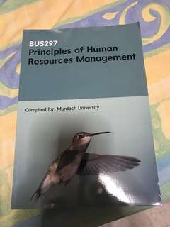 BUS297 - Principles of Human Resources Management