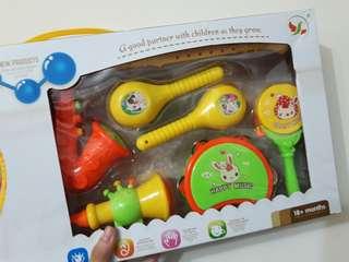 🚚 嬰幼兒啟發樂器組